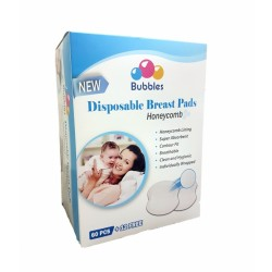 Bubbles Disposable Breastpads (60+12)