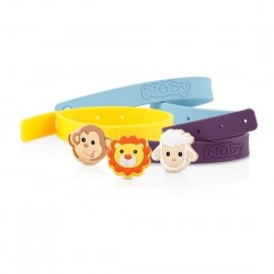 Nuby Insect Repellent Wrist Band with Charm (2pcs)