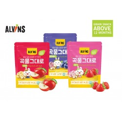 ALVINS Healthy Rice & Real Grain for 12 Months+ (3 Packs)