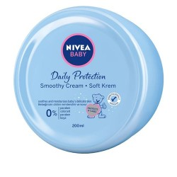 NIVEA BABY Daily Protection Smoothy Cream 200ml