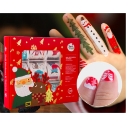 Joan Miro Tattoo & Nail Stickers - Christmas Special