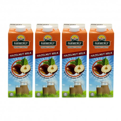 [Chilled] Farmerly Hazelnut Drink 1L (4 Packets)