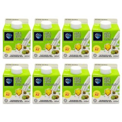 [Chilled] DiamondPure Milk with Kiwi 300ml (8 Packets)