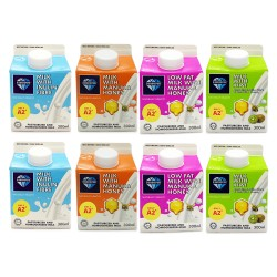[Chilled] DiamondPure Milk 300ml (Mix 8 Packets)
