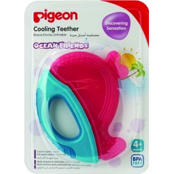 Pigeon Cooling Teether, Pinkie Whale -13652