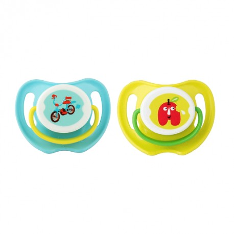 Pigeon Calming Soother, 2pcs-Boy, S