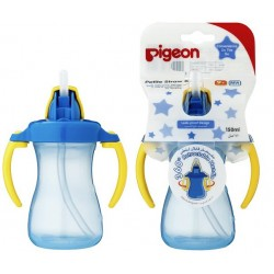 Pigeon Petite Straw Bottle 150ml (Blue) - 26149