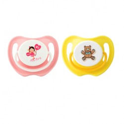 Pigeon Calming Soother 2 Pieces - Girl (S) - 15752