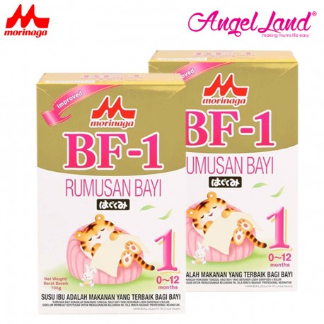 Morinaga BF-1 Infant Formula (0-12month) 700g (2pack)