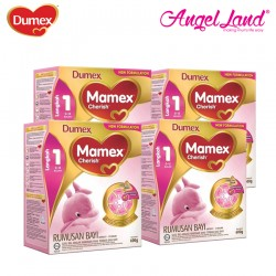 Dumex Mamex Cherish 1 (0-12 month) 600g ( 4 Pack)
