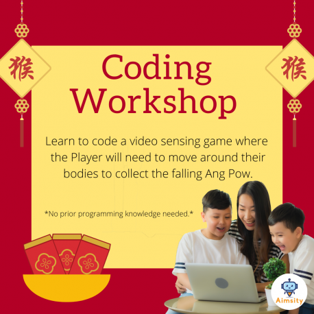 Code a Video Sensing Game for CNY!