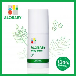 Alobaby Baby Balm Organic Baby Lotion Moisturizer 19g