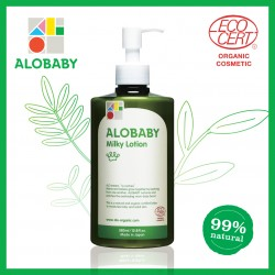 Alobaby Milky Lotion Organic Baby Lotion Moisturizer 380ml