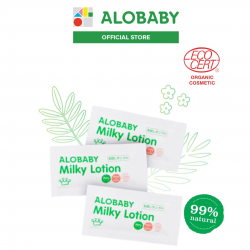Alobaby Milky Lotion 3-day Trial Kit