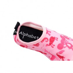 Alphabet Junior - Perfect Shoes for Baby/Toddler/Kid Pink Animal