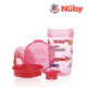 Nuby 1Pk 300ml/10oz Printed Tritan 360 Wonder Cup with PP Cover (Red Car)