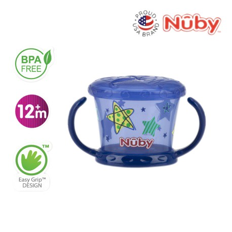 Nuby Pinpoint Snack Keeper (1pc) - Blue Star