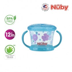 Nuby Pinpoint Snack Keeper (1pc) - Aqua Aster