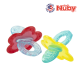 Nuby Chewbies Silicone Teether with Case (1pc) - Blue Red