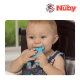 Nuby 1Pk Silicone Beaded Pacifinder with Teether (Elephant)