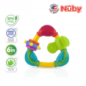 Nuby Triangle Teether with TPE (1pc) - Yellow Triangle