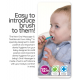 Nuby Toothbrush With Bristles (1pc) blue