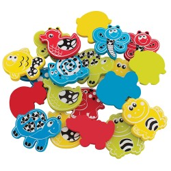 Playgro Animal Friends Bath Shapes