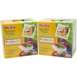 "Nuby ""Garden Fresh"" Fresh Food Popsicle Tray (4pcs)"