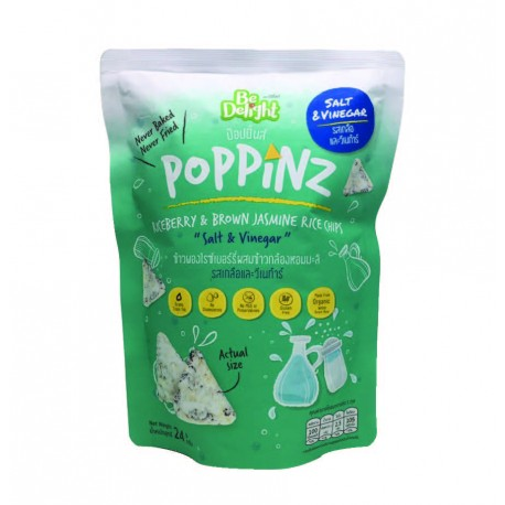 Be Delight Poppinz Rice Chips (Salt & Vinegar)