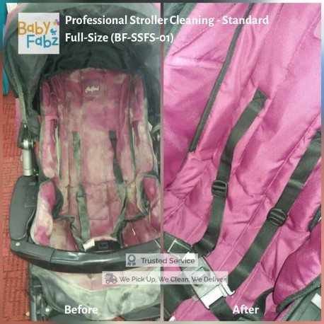 Baby Fabz Professional Stroller Cleaning - Standard Full-Size (BF-SSFS-01)