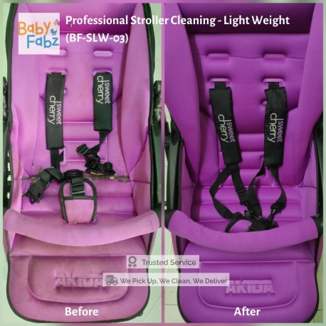 Baby Fabz Professional Stroller Cleaning - Light Weight (BF-SLW-03)