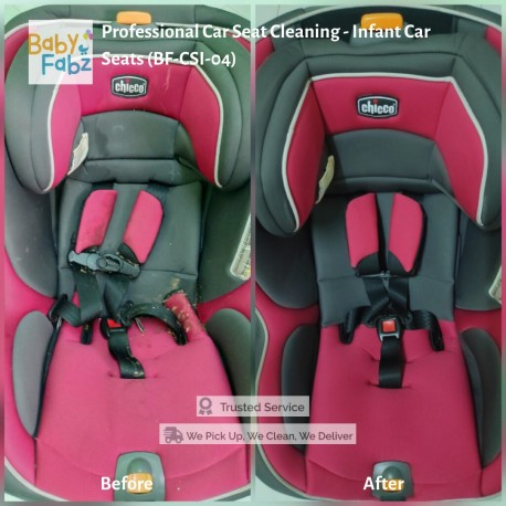 Baby Fabz Professional Car Seat Cleaning - Infant Car Seats (BF-CSI-04)