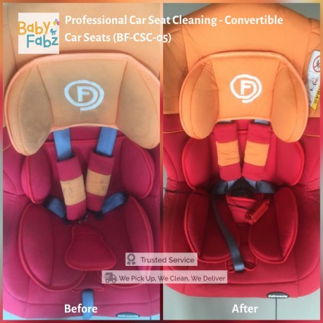 Baby Fabz Professional Car Seat Cleaning - Convertible Car Seats (BF-CSC-05)