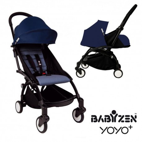 Babyzen Yoyo+ 6+ Black Frame Air France