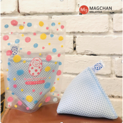 Magchan Smart & Eco-friendly Reusable Magnesium Laundry Washing Bag (70g) - Blue