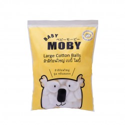 Baby Moby Large Cotton Balls (100grams)