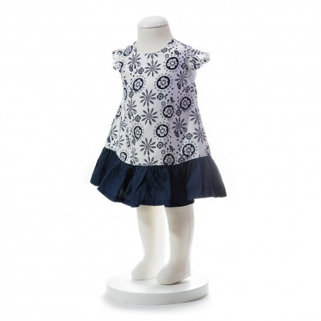 BABY STYLE ASIA Baby Girls Summer Style Aztec Pattern Dress
