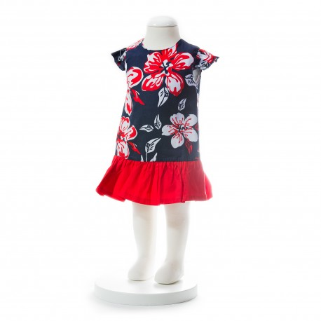 BABY STYLE ASIA Baby Girls Summer Style Floral Dress