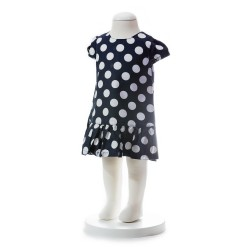 BABY STYLE ASIA BABY GIRLS SUMMER STYLE POLKA DOT DRESS