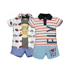 BABY STYLE ASIA Baby Boys Bundle Set