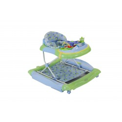 Babyhood Diddlee Doo 2 in 1 Walker Rocker (Blue)
