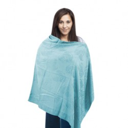 Babylove Premium Nursing Poncho (Light  and  Blue)