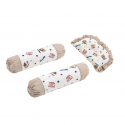 Babylove 3 In 1 Dimple Pillow and Bolster Set