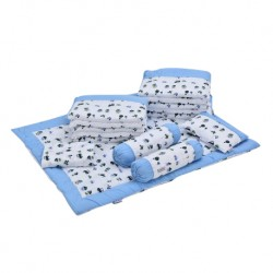 Babylove 7 in 1 Bedding Set (Captain Blue)