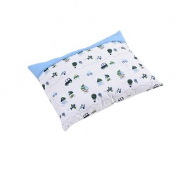 Babylove 100% Cotton Premium Pillow L (Captain Blue)