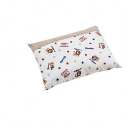 Babylove 100% Cotton Premium Pillow L (Animals Stars)