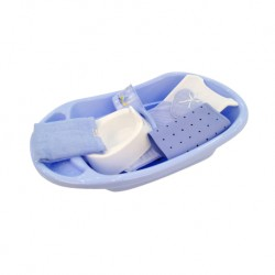 Babylove Bath Set 6 in 1 Combo (Blue)