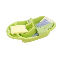 Babylove Bath Set 6 in 1 Combo (Green)