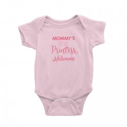 Babywears.my Mommy's Little Princess Addname T-Shirt  Pinky Personalizable Designs For Girls