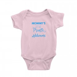 Babywears.my Mommy's Little Prince Addname T-Shirt For Boys Personalizable Designs